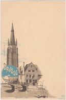 BRUGGE. OLV Toren. Begijnhof's Brug - Brugge