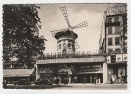 75 PARIS N°57 Montmartre LE MOULIN ROUGE En 1948 Film Le Joueur Restaurant Chez Graff Citroën Traction VOIR DOS - Paris By Night