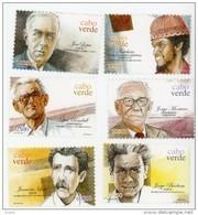 Cap Vert-Cabo Verde-2003-Musiciens Et Ecrivains-790/95-***MNH - Kap Verde