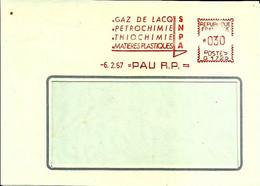 Ema Havas G 1967 Snpa Gaz Lacq Matiere Plastique  Usine Metier 64  Pau C32/38 - Erdöl