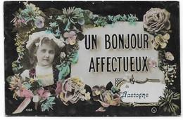 BASTOGNE : Un Bonjour Affectueux - 1909 - Bastogne