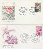 1357/1528 FLORALIES - Roses - ORLEANS 62 Et 67 - 1960-1969