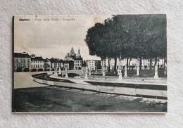 Cartolina Illustrata Padova - Prato Della Valle - Canaletta, Viaggiata Per Lugo 1917 - Padova (Padua)