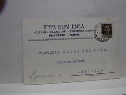 PORRETTA TERME  -- BOLOGNA  --   DITTA  ELMI ELIA  -- PELLAMI  - CALZATURE  ECC. - Bologna