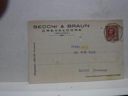 CREVALCORE   -- BOLOGNA  --    SECCHI  & BRAUN - Bologna