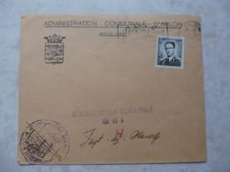 Belgique Belgie  Brief / Lettre / Document  Gestempelt / Oblitéré  ( Communale Arlon ) Baudouin /  Boudewijn - Belgium