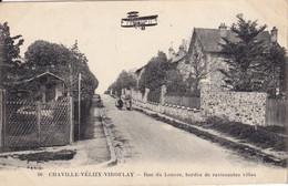 CPA 92 CHAVILLE VELIZY VIROFLAY - Rue Du Louvre Bordée De Ravissantes Villas - Chaville