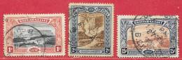 Guyane Britannique N°88, 89, 92 1898 O - British Guiana (...-1966)