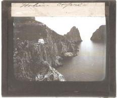 Italie - CAPRI - Plaque Photographique Ancienne (plaque De Verre) - I Faraglioni - Format 8,5 X 9,9 Cm - Zonder Classificatie