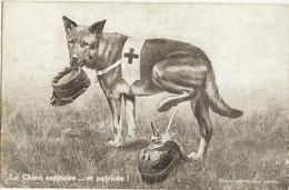 Guerre14/18 -  LE CHIEN SANITAIRE Et Patriote  69 - Guerra 1914-18