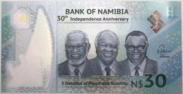 Namibie - 30 Dollars - 2020 - PICK 18a - NEUF - Namibië