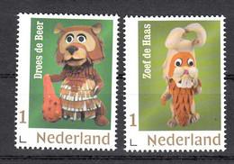 Nederland 2020 Nvph Nr ??. Mi Nr ?? :'Fabeltjeskrant Met Droes De Beer + Zoef De Haas - Nuovi
