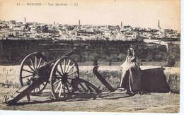 MAROC - MEKNES - Vue Générale ( Canon ) - Meknes