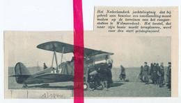 Orig. Knipsel Coupure Tijdschrift Magazine - Wilmarsdonk - Noodlanding Nederlands Vliegtuig - 1940 - Non Classificati