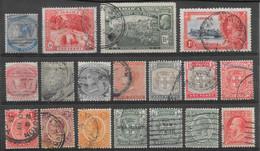 Jamaïque Classiques Lot De 18 Tp 1870-1935 O - Jamaica (...-1961)