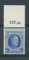 N°257** BDF AVEC NUMERO COMPTABLE - 1922-1927 Houyoux