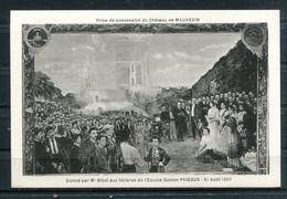 # - Prise De Possession Du Château De MAUVEZIN (carte Vierge) - Sonstige Gemeinden