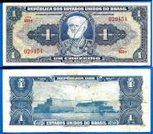Bresil 1 Cruzeiro 1943 Signe Main Billet Que Prix + Port  Cruzeiros Brasil Paypal Bitcoin - Brasile