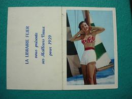 Petit Calendrier 1959 - Librairie FEJER - Calendari