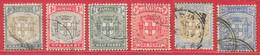 Jamaïque N°33, 38, 42 à/to 44, 51 Victoria (filigrane CA) 1904-10 O - Jamaica (...-1961)