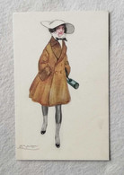 Cartolina Illustrata L.A. Mauzan Torino 1917 - Mauzan, L.A.