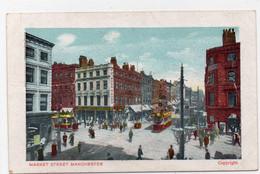 DC3693 - Postcard Manchester, Market Street - Otros