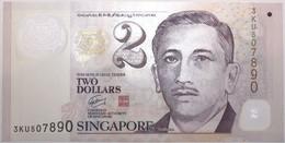 Singapour - 2 Dollars - 2009 - PICK 46b - NEUF - Singapore