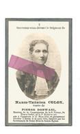 DD 292. MARIE-THERESE COLON  Veufe De P. Derwael - °OPPREBAIS 1853 / +HEERS 1932 - Andachtsbilder