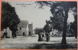 CARTE SAINTE MARIE LA BLANCHE - 21 - LA PLACE - SCAN RECTO/VERSO - 8 - Sonstige Gemeinden