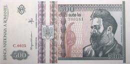 Roumanie - 500 Lei - 1992 - PICK 101b - NEUF - Romania