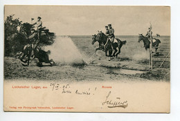MILITARIA  Cavaliers Allemands Lockstedter Lager Rennen  1905 Timb   D20 2020 - Ohne Zuordnung