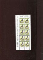 Belgie Buzin Vogels Birds Nr 4367 2e Druk LICHTGROEN !!! AR Volledig Velletje  MNH Plaatnummer 1 - 1985-.. Birds (Buzin)