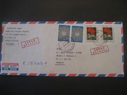 Äethiopien 1987- Express-Beleg Mit Schönen Sondermarken Und Ankunftstempel - Ethiopia