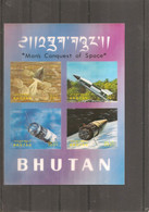 Espace ( BF 36 XXX -MNH- Du Bhoutan) - Asie