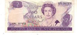 New Zealand  P.170c 2  Dollars 1992  Vf+ - New Zealand