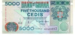 Ghana P.34 5000  Cedis 1996  Unc - Ghana