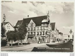 AK  Mindelheim Marktplatz Mit Rathaus - Mindelheim