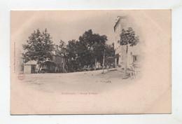 46 - GOURDON - Place St Jean En 1900/04 - Peu Courante - - Gourdon