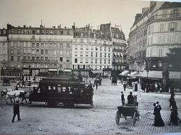 Tram / Place De Rennes / Paris / 1900 - Tram
