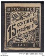 Colonies Françaises émissions Générales Timbre Taxe N° 7 - Strafportzegels