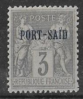 PORT SAID N°3 **  Neuf Sans Charnière  MNH - Port Said (1899-1931)