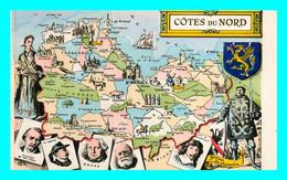 A840 / 189 22 - COTES Du NORD Carte Géographique - Ohne Zuordnung
