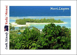 Cook Islands Muri Lagoon New Postcard Cookinseln AK - Cook Islands