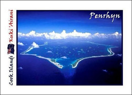 Cook Islands Penrhyn New Postcard Cookinseln AK - Cook Islands