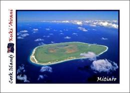 Cook Islands Mitiaro New Postcard Cookinseln AK - Cook Islands