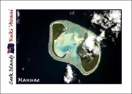 Cook Islands Manuae New Postcard Cookinseln AK - Cook Islands