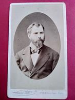 Photo CDV - Portrait Homme - Barbe - Photo Pierre Petit à Paris - 1881  TBE - Ancianas (antes De 1900)