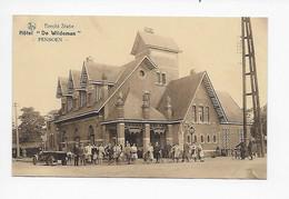 """Brecht   Statie  Hôtel """" De Wildeman """"  PENSIOEN     1928 - Brecht"""