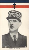 Calendrier 1945 Petit Format (3,5X16cm) Général De Gaulle Drapeau Tricolore Croix Lorraine Liberté Paix Abondance - Calendari