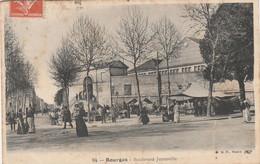 CARTE POSTALE   BOURGES 18  Boulevard Juranville - Bourges